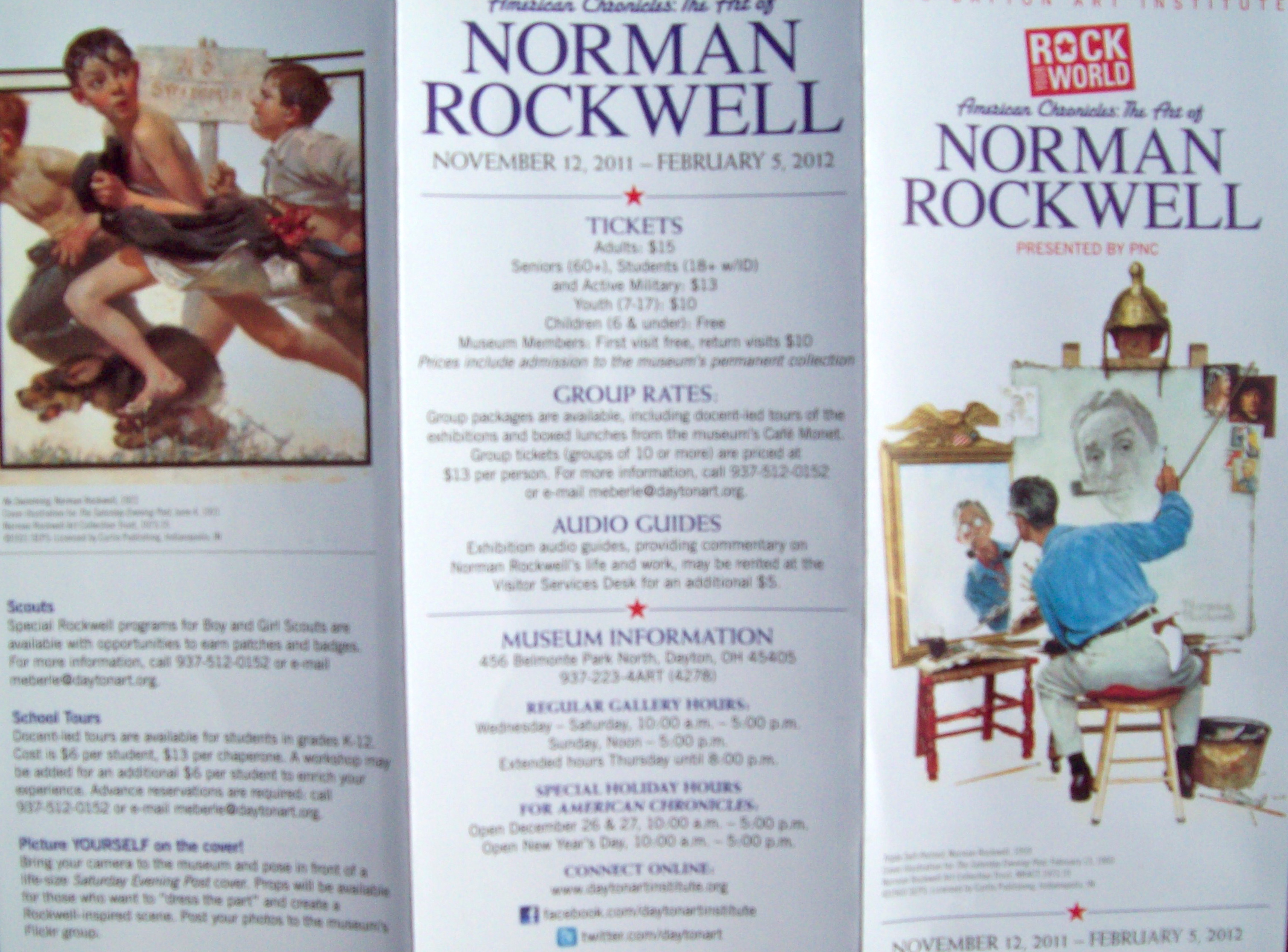 A Day at the Museum With Norman Rockwell Art Center Information