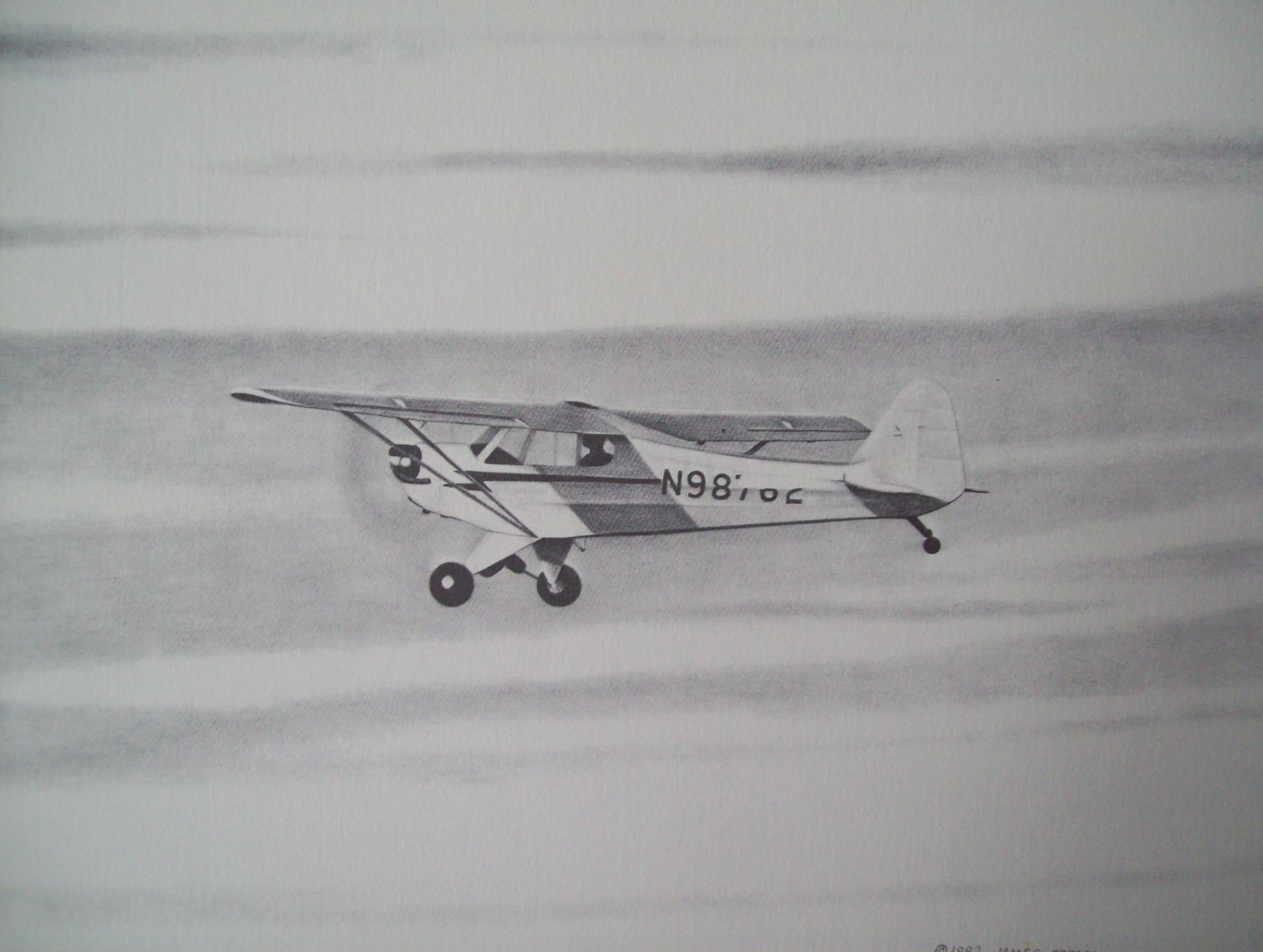 tracks on the clouds james frederick u0027s famous airplane drawings