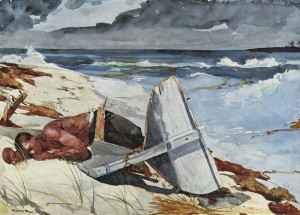 Winslow Homer: After the Hurricane, Bahamas 1899