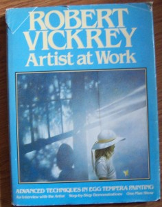 Robert Vickrey's Book: Artist at Work