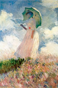 Claude Monet: Temera on canvas