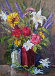 Artist, Lynn Burton: Oil on Canvass