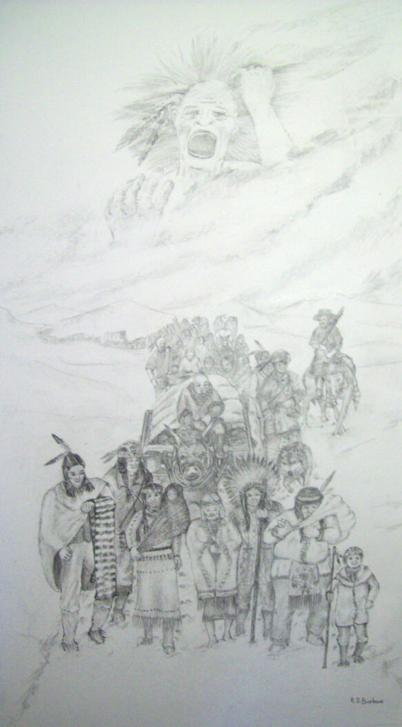 Anguished Spirit (Trail of Tears)