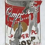 Andy Warhol: Small Torn Campbell's Soup Can (Pepper Pot)