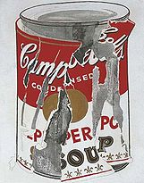 Andy Warhol: Small Torn Campbell's Soup Can (Pepper Pot) sold for $11.8m